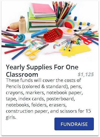 Supplies For One Classroom