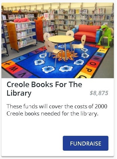 Creole Books For The Library