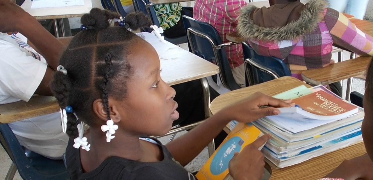 Haiti Now delivers a wide variety of social equity programs and education materials to help girls grow and develop.