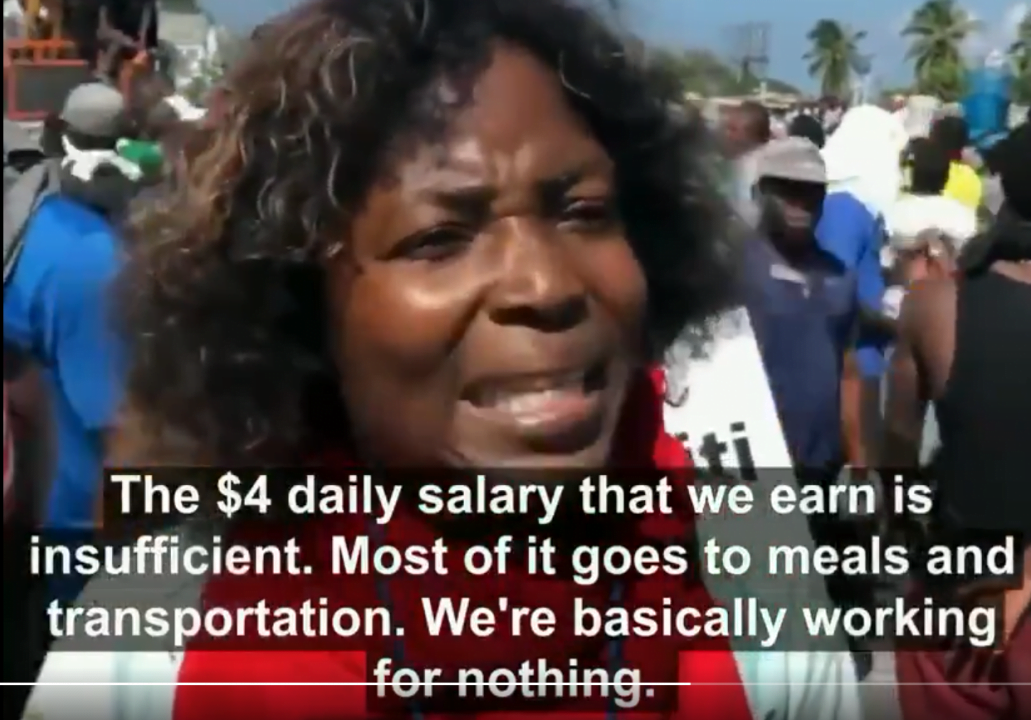 labor exploitation in Haiti