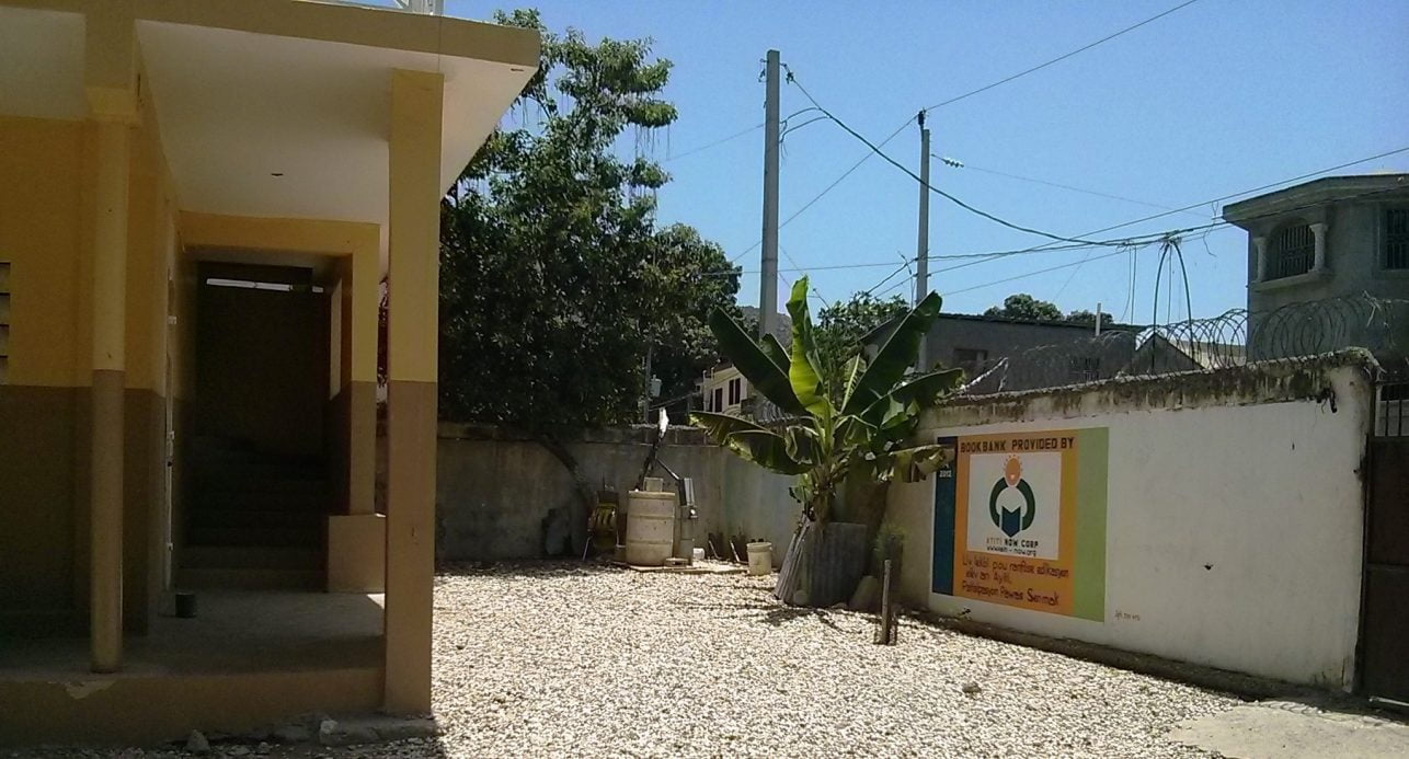 Book Bank program in Haiti