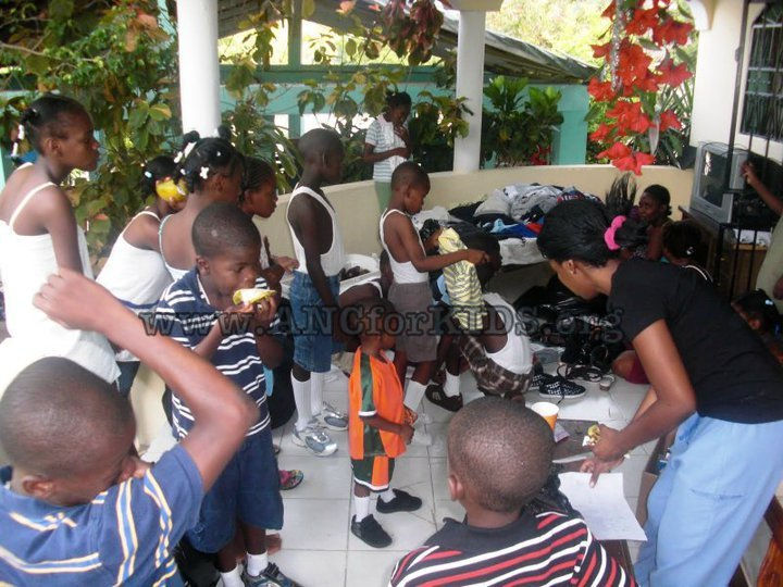 2010 mission to Haiti
